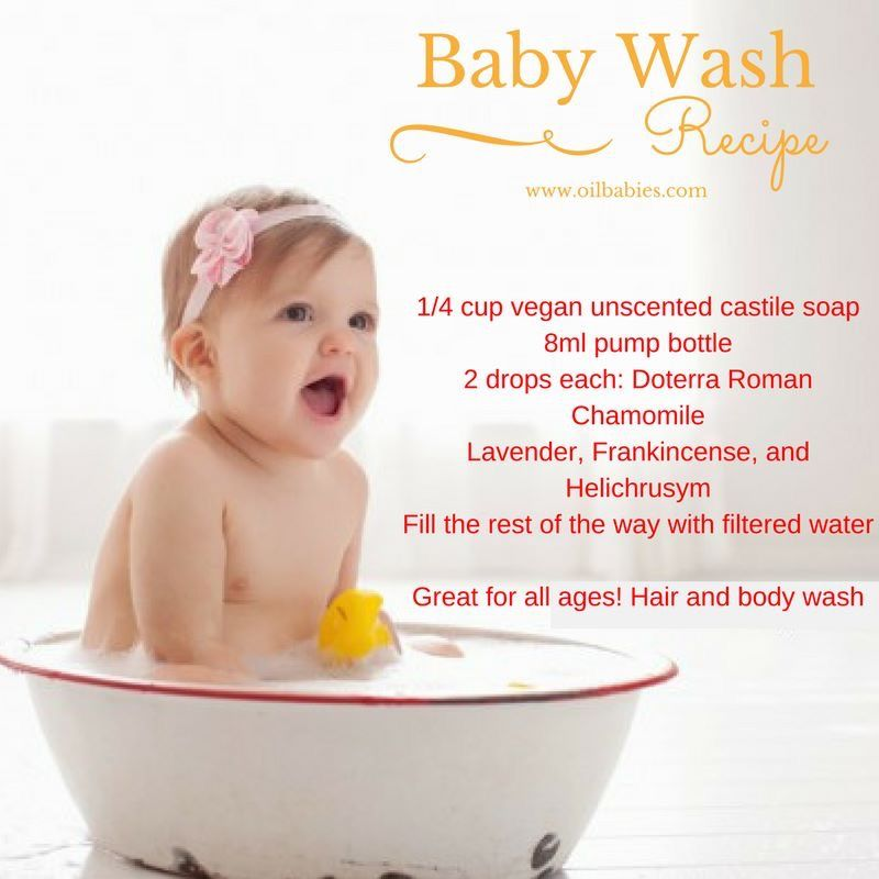 Pin By Oil Babies On Oil Babies 0 2 Baby Wash Doterra