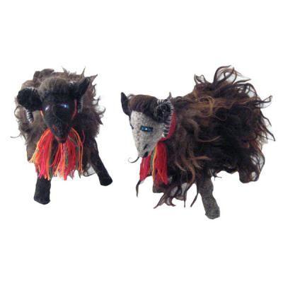 Mexican Folk Art Images Sweet Birds Sheep