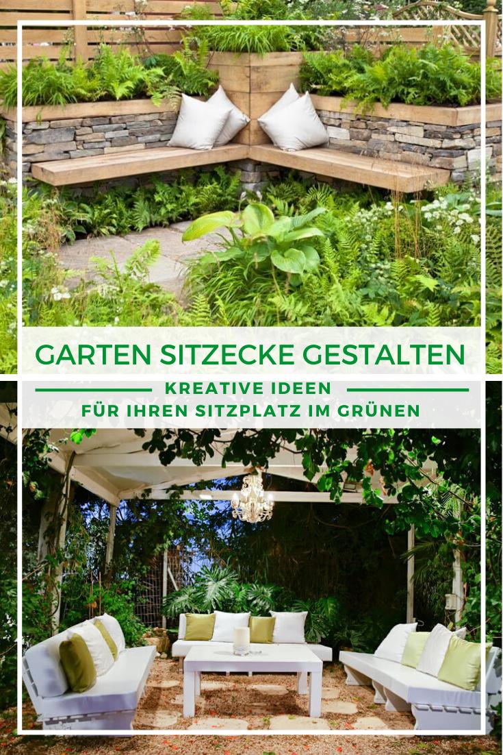 Garten Sitzecke Gestalten Ideen Fur Kleine Und Grosse Garten Sitzecken Garten Garten Gestalten Garten Sitzgruppe