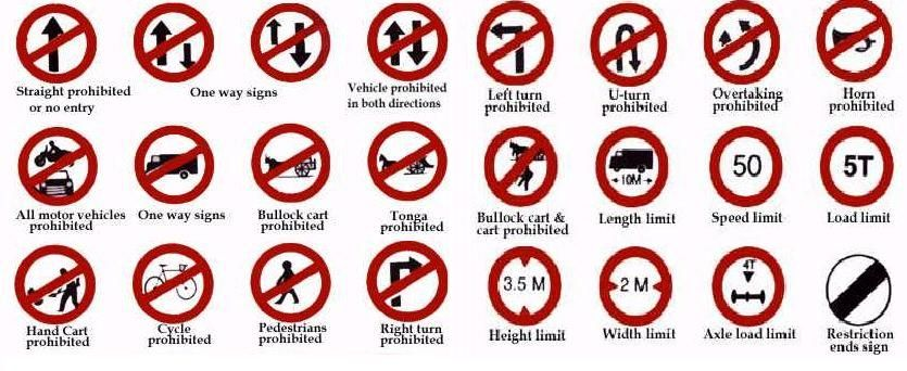 traffic rules of india