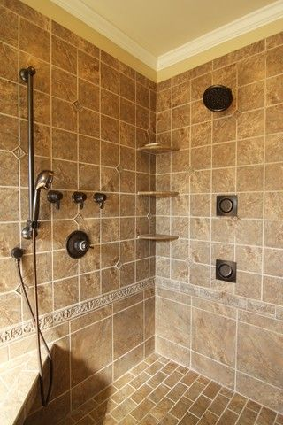Shower Remodel Oil Rubbed Bronze Fixtures Criner Remodeling In Custom Virginia Bathroom Remodeling Review