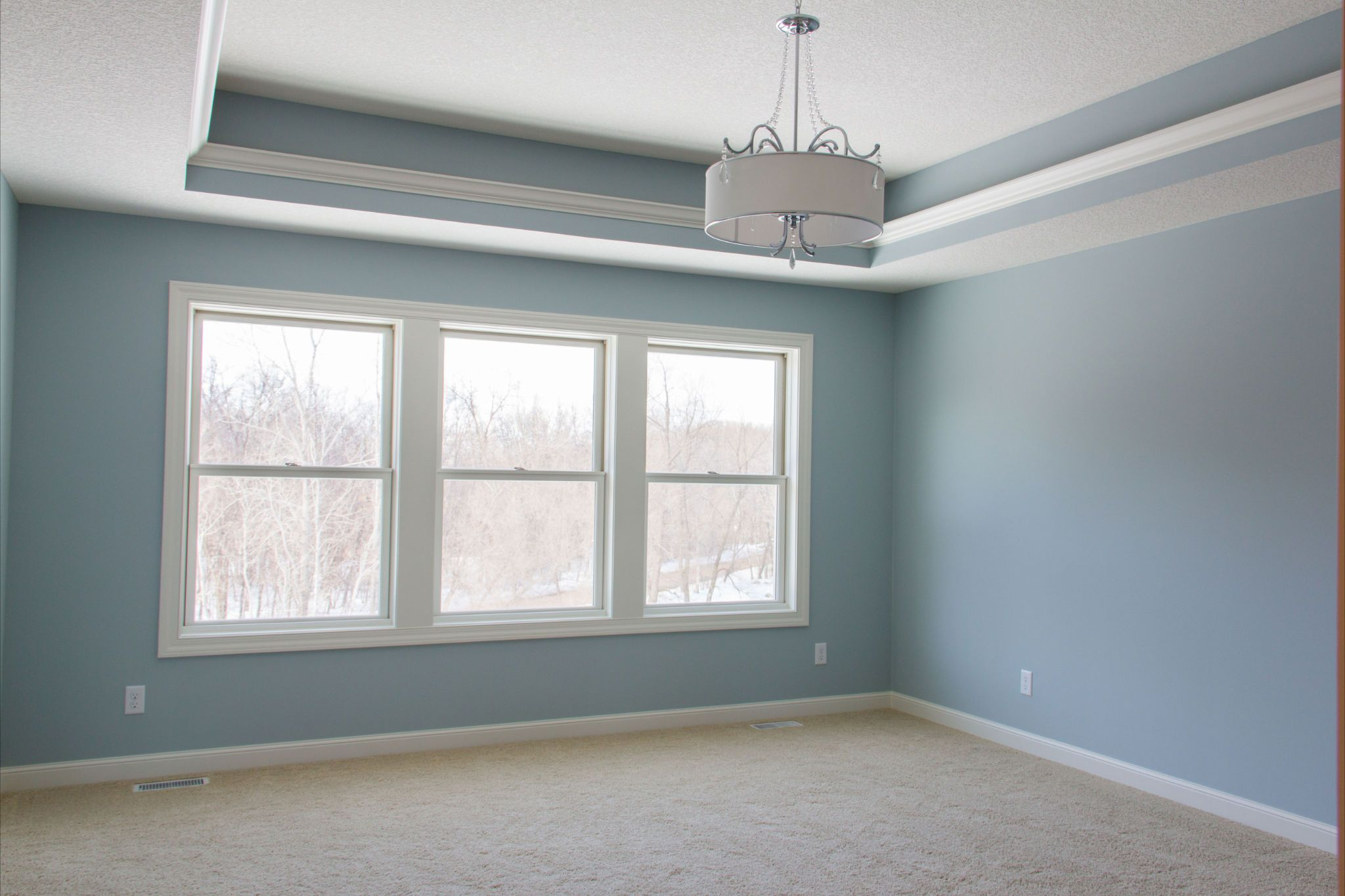Master Suite Bedroom Ldk Master Suite Bedroom With Ceiling Bump Up And Crown Molding