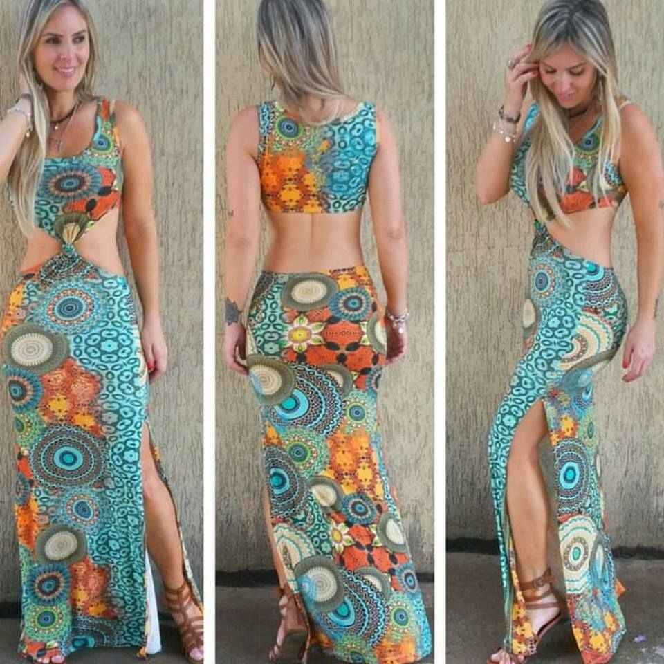 9e75515013 vestido-longo-nó-fenda-estampado-comprar-viscolycra