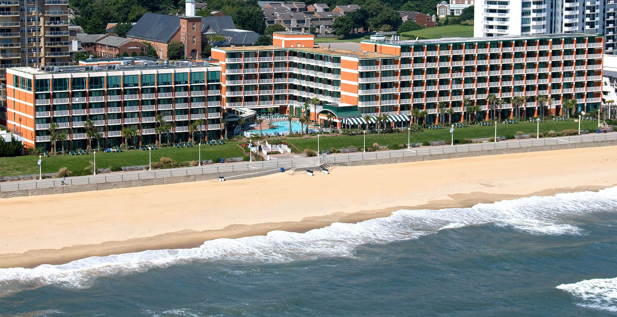 Take Advantage Of A Prime Location Near Top Attractions Like The Virginia Beach Boardwalk When You Stay At Our Premier Oceanfront Hotel