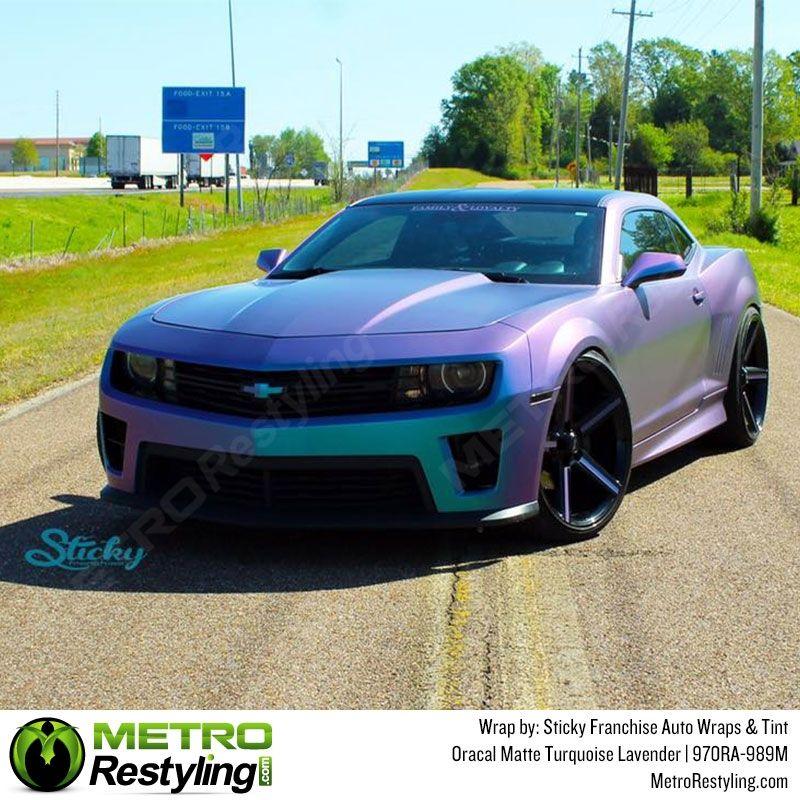Oracal Matte Turquoise Lavender Vinyl Wrap Metro Restyling Vinyl Wrap Car Car Wrap Custom Cars Paint
