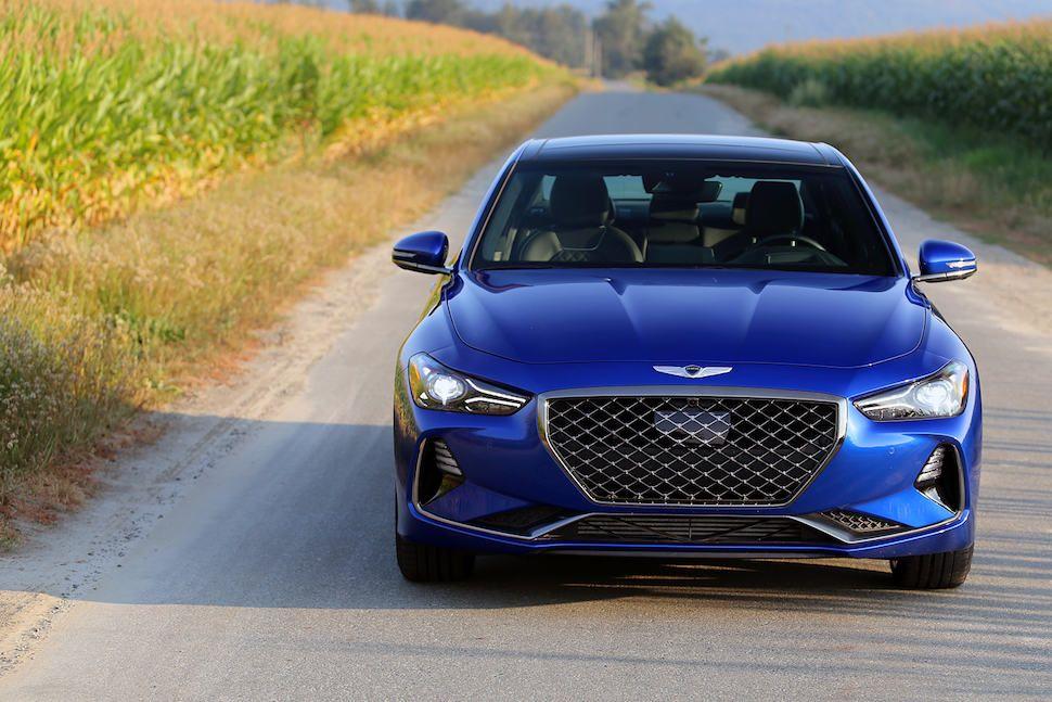 2019 Genesis G70 Review Performance cars, Benz c, Six models