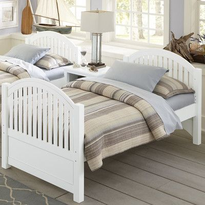 NE Kids Lake House Adrian Twin Bed Finish: