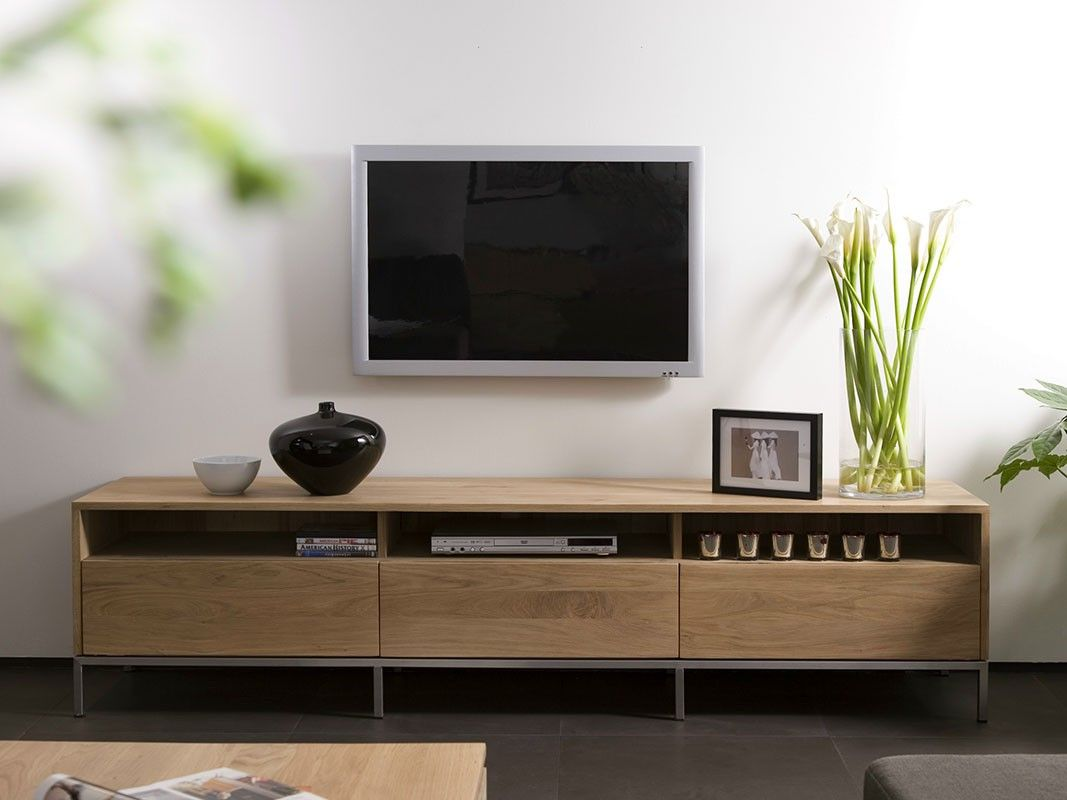 Mueble Tv Ligna M Roble | Tv cupboard, Cupboard and Living rooms
