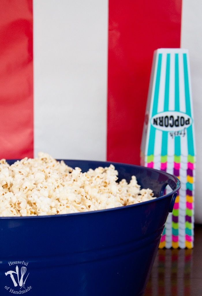 Movie Theatre Themed Birthday Party