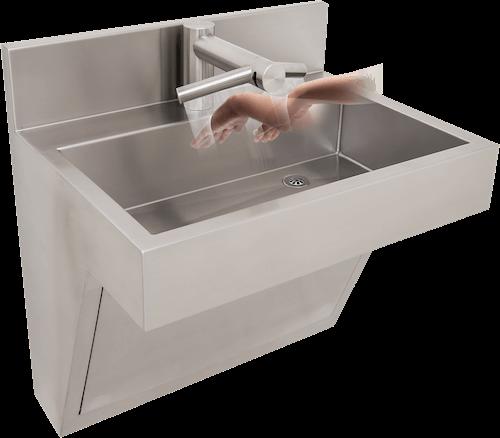 Stainless Steel Scrub Sink Sink, Dry sink, Wash hand basin