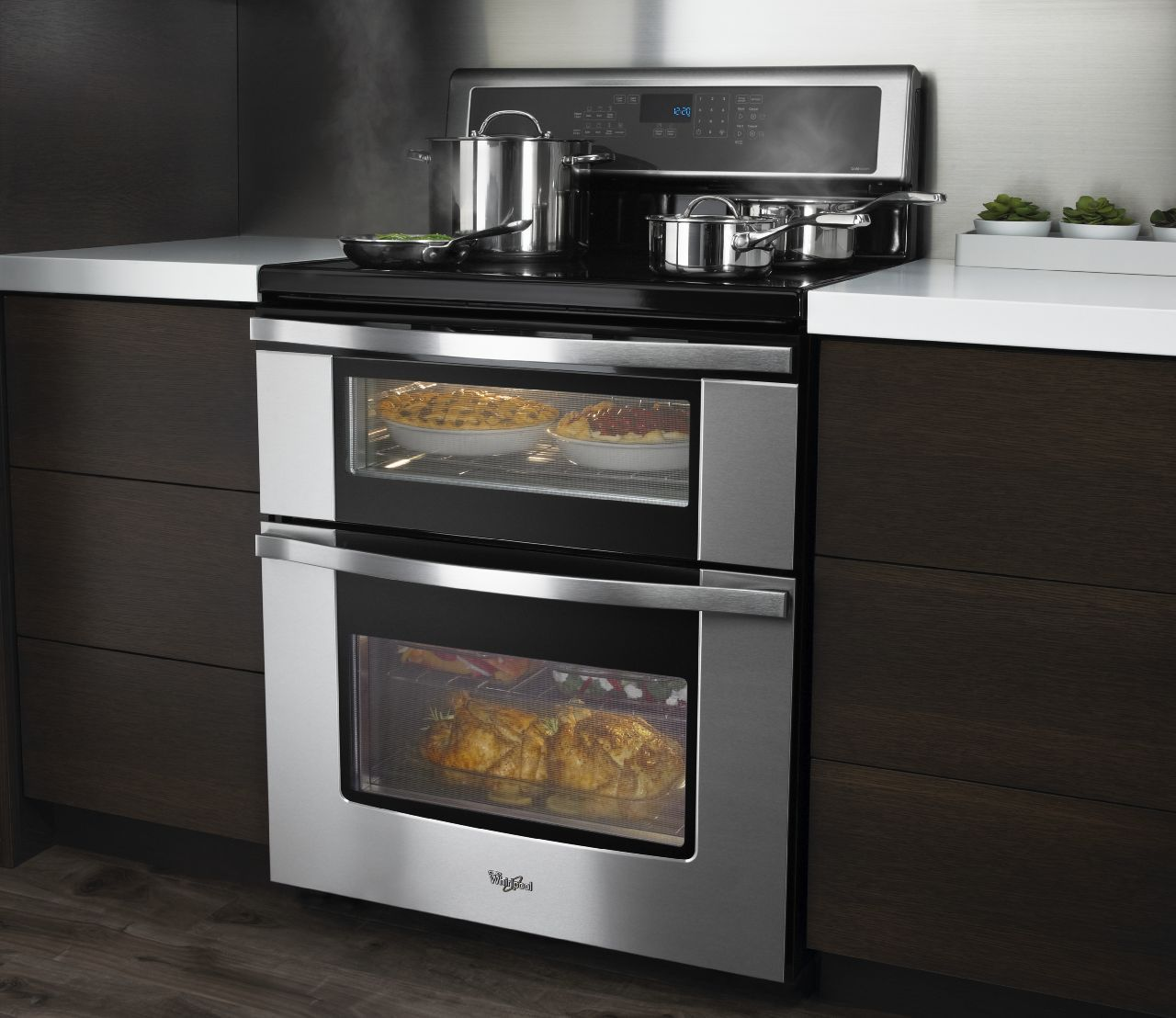 Whirlpool Double Oven Electric Range Whirlpool Brand Announces The