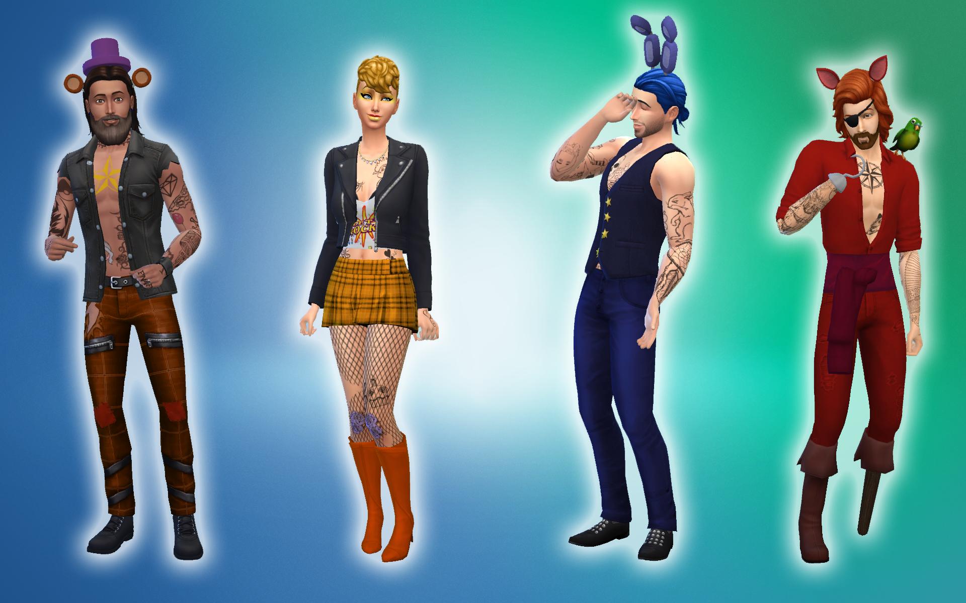 Pin on Sims 4 Fnaf