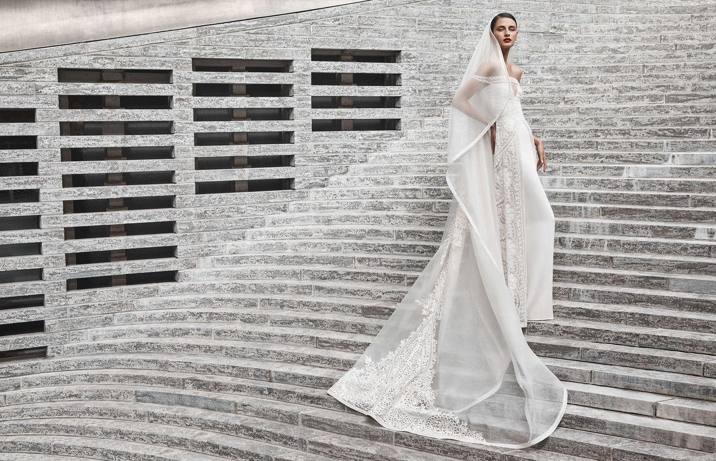 Cream colored vintage wedding dresses  Naeem Khan Fall  Wedding Dress Collection  About Bridal Fashion