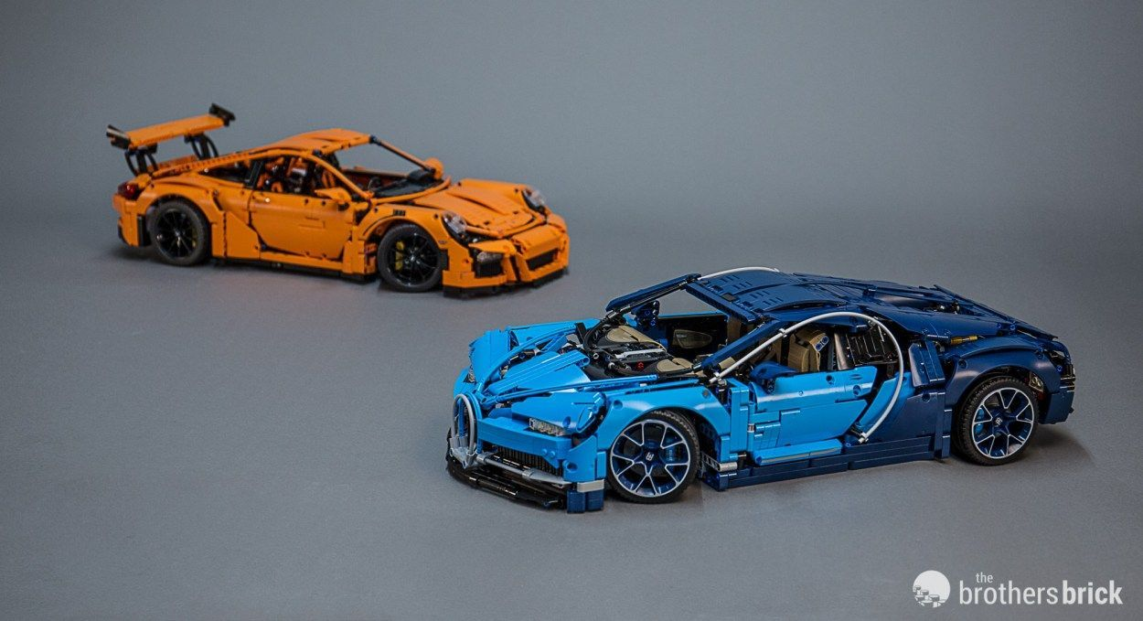 Lego Technic 42083 Bugatti Chiron The World S Most Luxurious Supercar Now A Premium Lego Set Review Video The Brothers Brick In 2020 Lego Technic Lego Technic Sets Super Cars