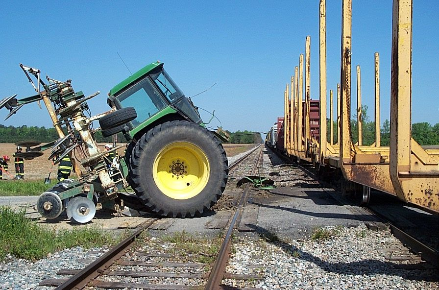 John Deere Tractor Split : Whoops oh shit pinterest tractor farming and