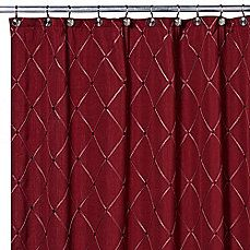 Image Of Wellington Shower Curtain In Wine Shower Curtain