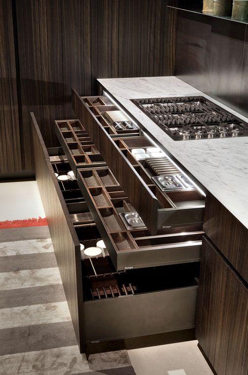 Cajones Para Almacenamiento Cocinas Integrales Modul Studio