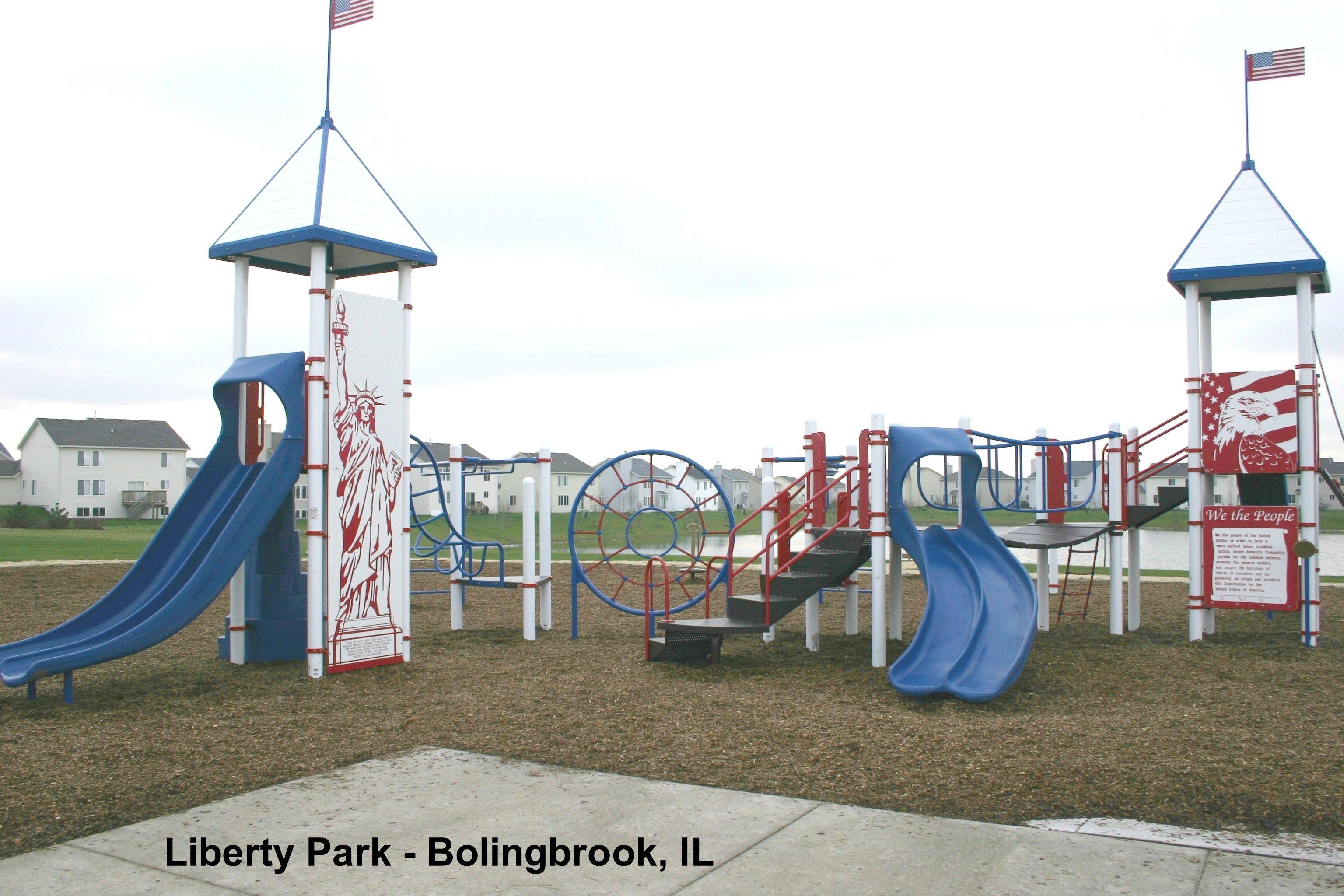 Liberty Theme Playground at Liberty Park Bolingbrook IL