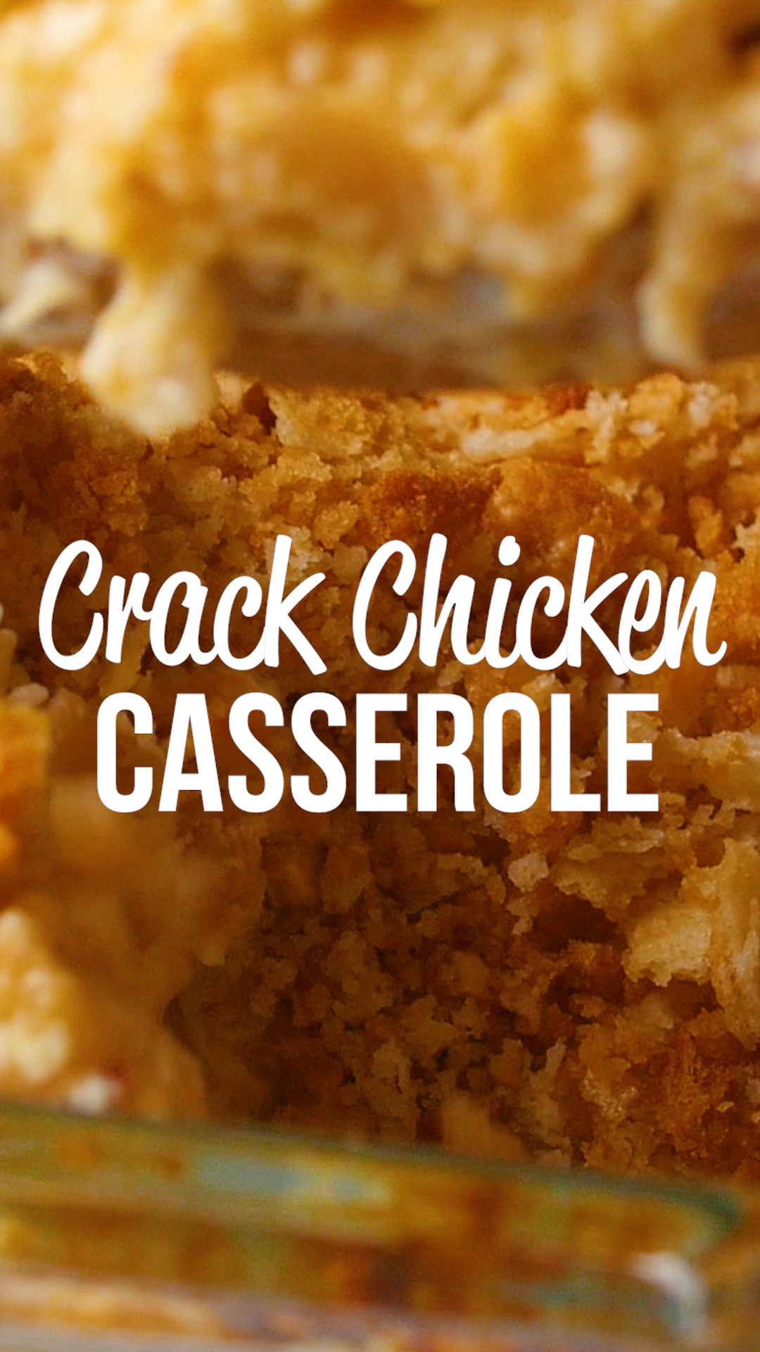 Crack Chicken Casserole Recipe #casserolerecipes