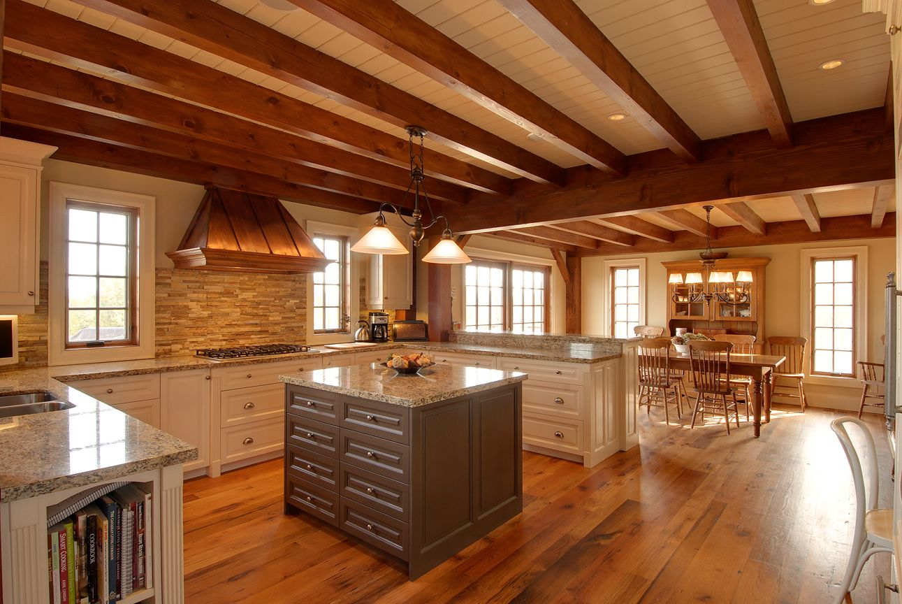 Timber home kitchen designs – House design ideas