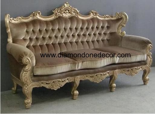 Margaux Fabulous Baroque Louis Xv French Reproduction Rococo Style Victorian Wedding Sofa