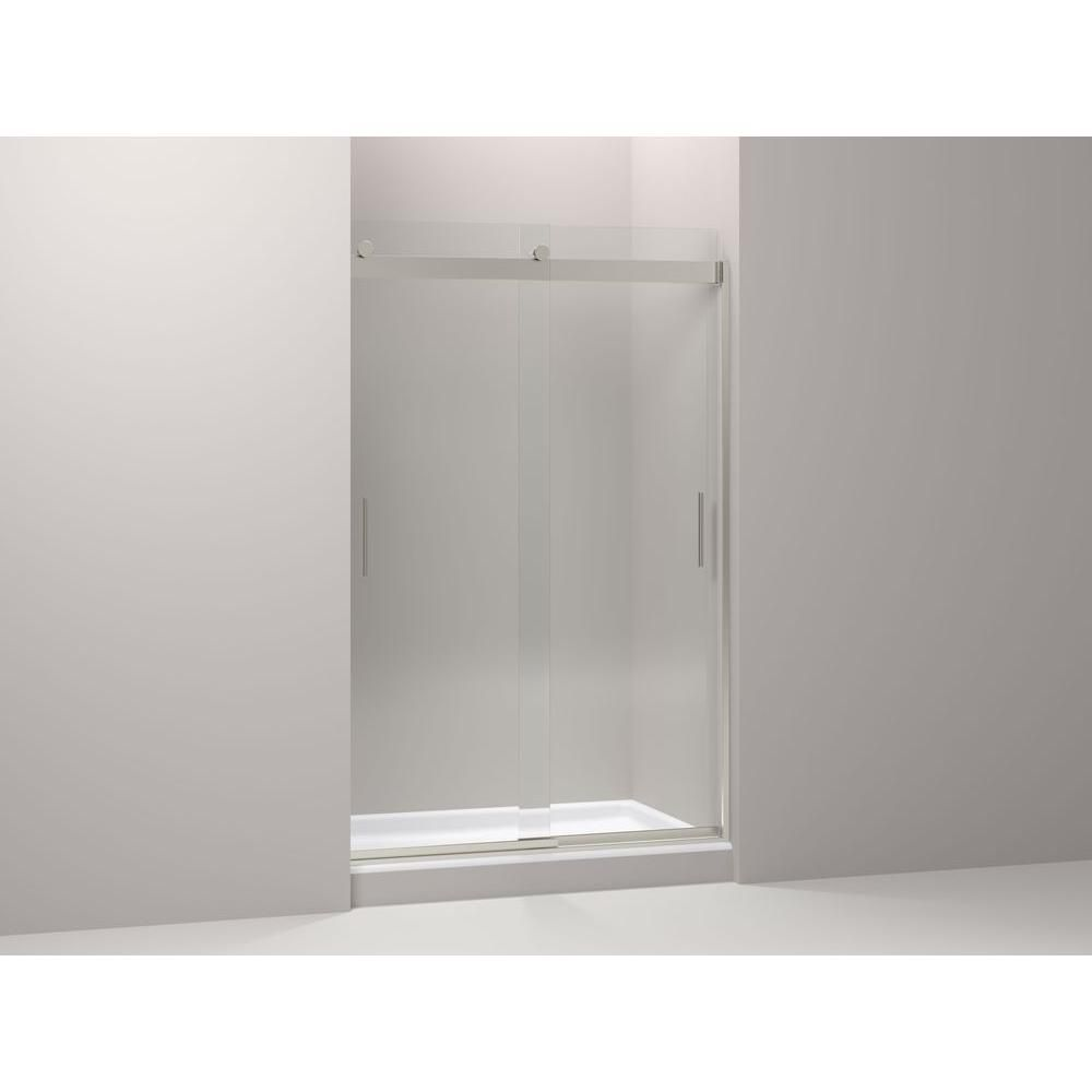 Kohler Levity 59 In X 62 In Semi Frameless Sliding Shower Door