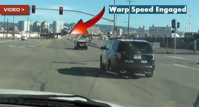 Carscoops: Nissan GT-R Blasts Away from the Cops After Illega...