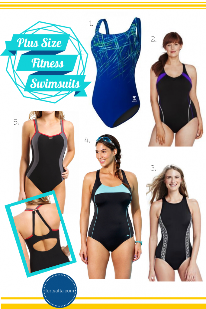 f53e25eb0d2 Plus Size Swimsuits for swimming laps