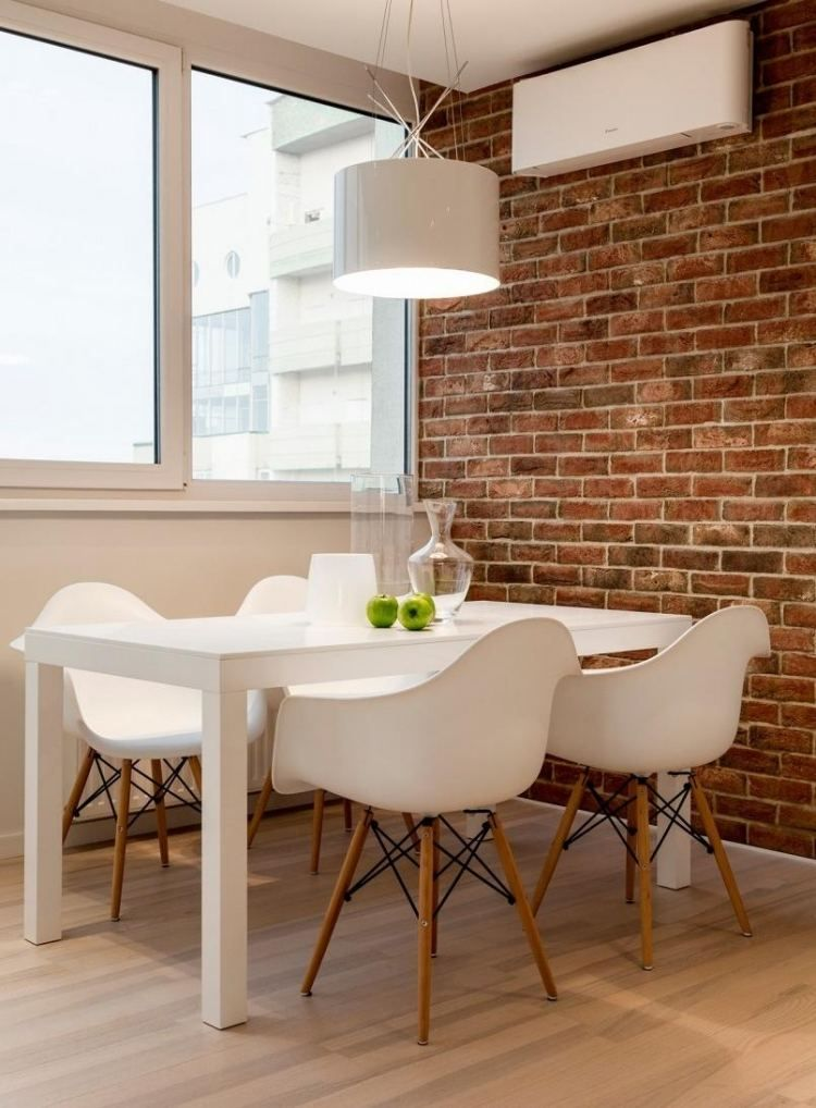 Esstisch mit Stühle in heller Stelle des Raumes Stühle Esszimmer - 50 ideen esszimmer design
