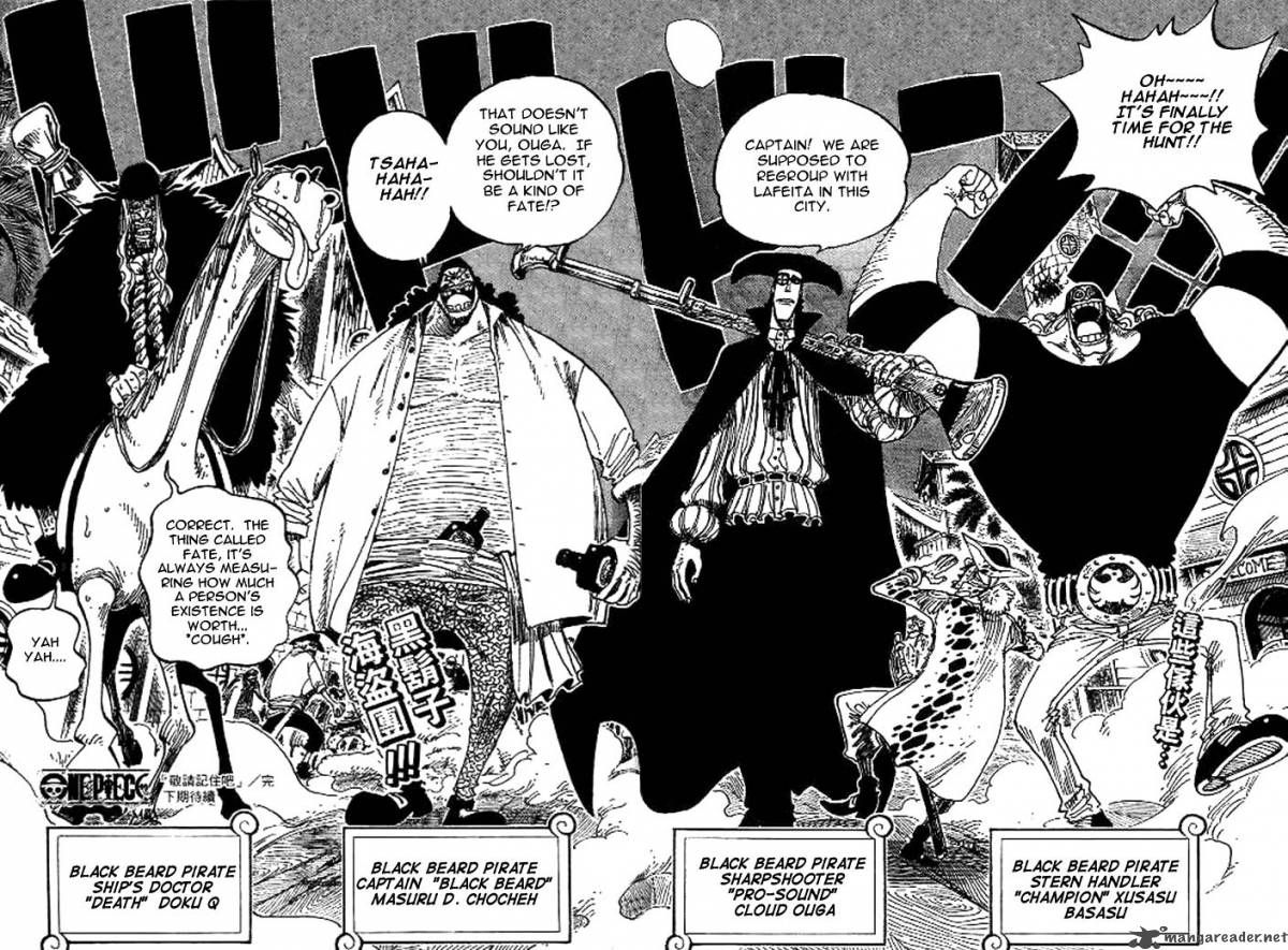 one piece blackbeard crew read one piece manga online at mangagrounds and join our one piece. Black Bedroom Furniture Sets. Home Design Ideas