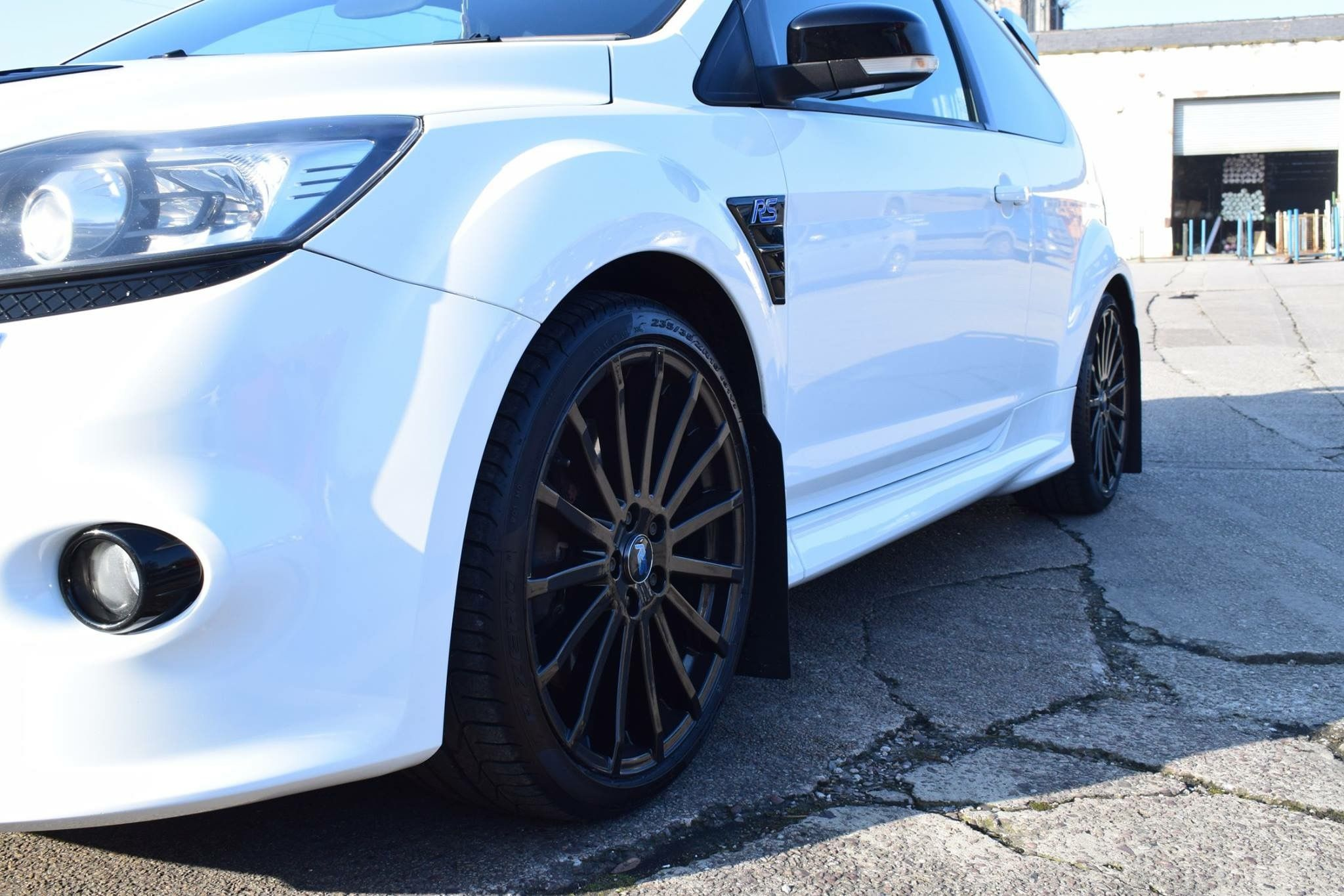 Ford Focus Rs Alloys We Refurbished And Powder Coated Gloss Black