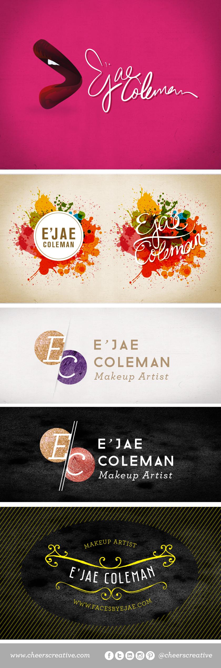 Our Logo Concepts For A Makeup Artist Www Cheerscreative Com Makeup Logo Perfume Logo Graphic Design Inspiration