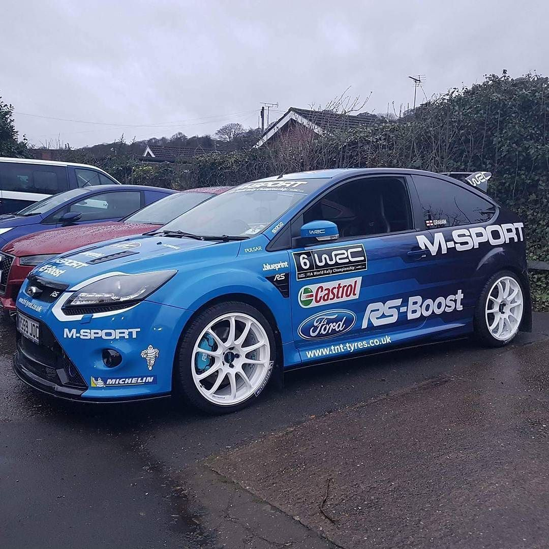 Another Great Wrapped Ford Focus Rs By The Team At Blueprint Nottingham Rsdirect Focusrs Rsfocus Mk2rs Rsmk2 Ford Rs Ford Focus Ford Focus Rs