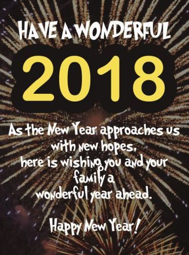 happy new year 2018 timeline covers to greet friends family this jubilant new year marks a fresh new start of brighter and more exciting journeys