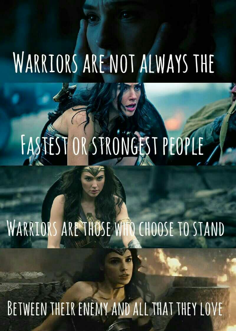 Quotes From Wonder Woman Movie: Gal Gadot's Wonder Woman 2017
