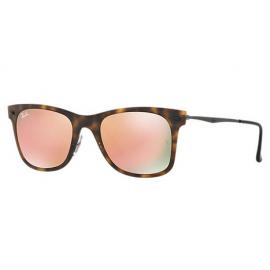8bf769c0bc Ray Ban RB4210 Wayfarer Light Ray sunglasses – Tortoise  Gunmetal Frame    Copper Mirror Lens