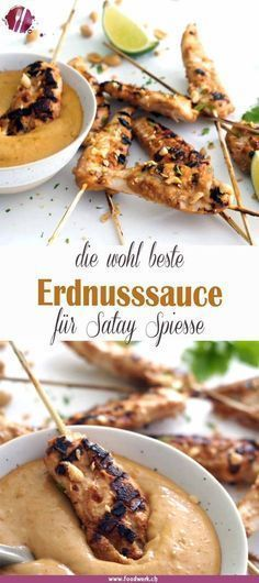 Poulet Sate Spiesse und unser neuer Weber Grill