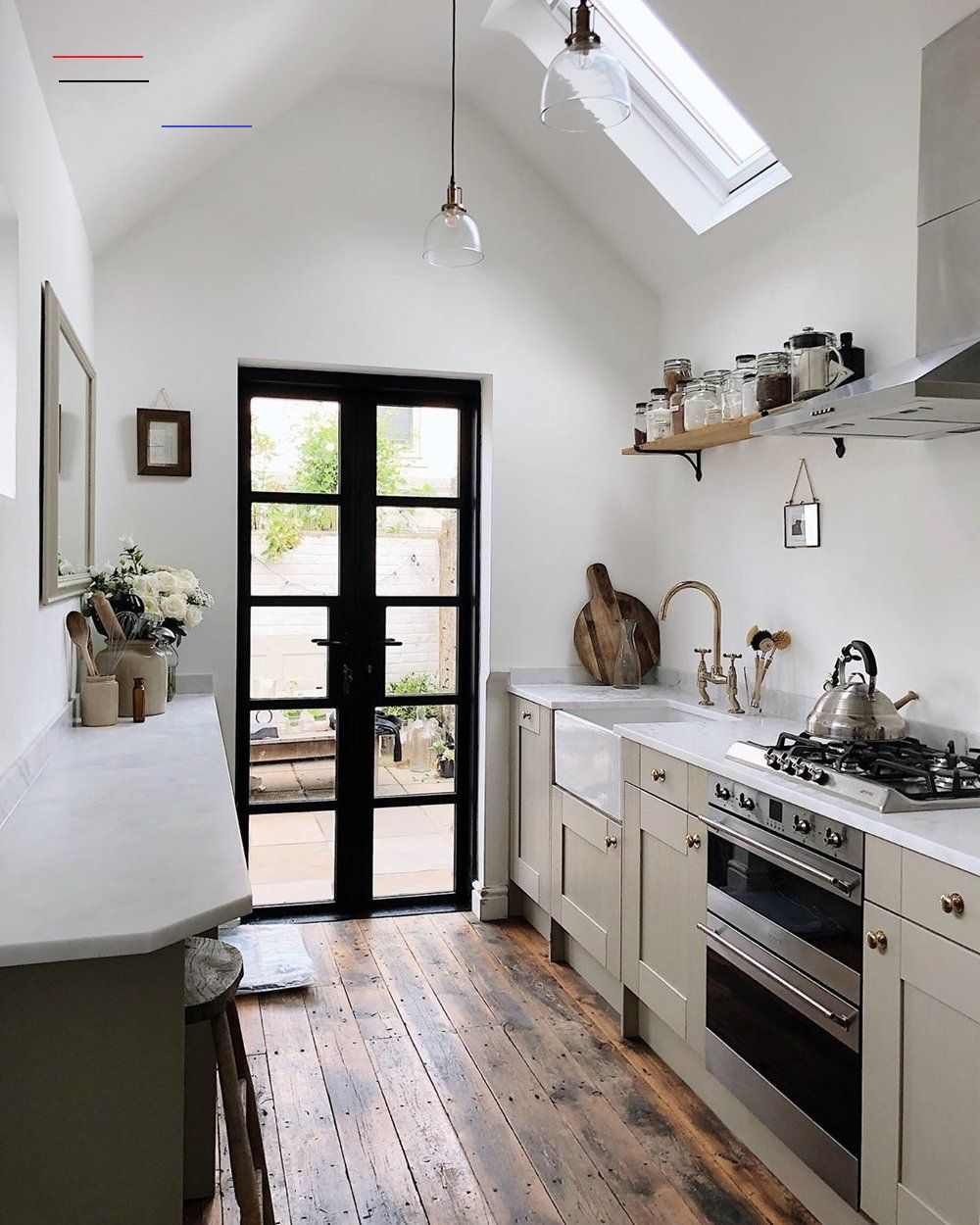 11 Beautiful Galley Kitchen Design Ideas Fifi Mcgee Interior Blogger Uk Galley In 2020 Gallery Kitchen Layout Galley Kitchen Design Kitchen Remodel Inspiration