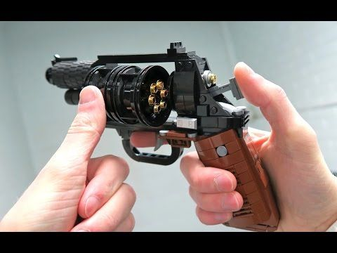 Working Lego Desert Eagle V35 Instruction Youtube Aarons Guns