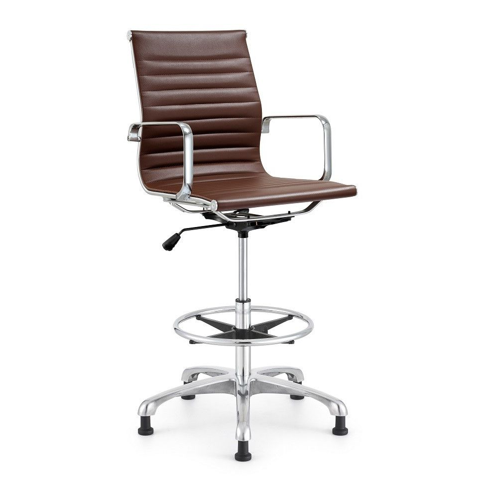Customer image zoomed drafting chair chair adjustable