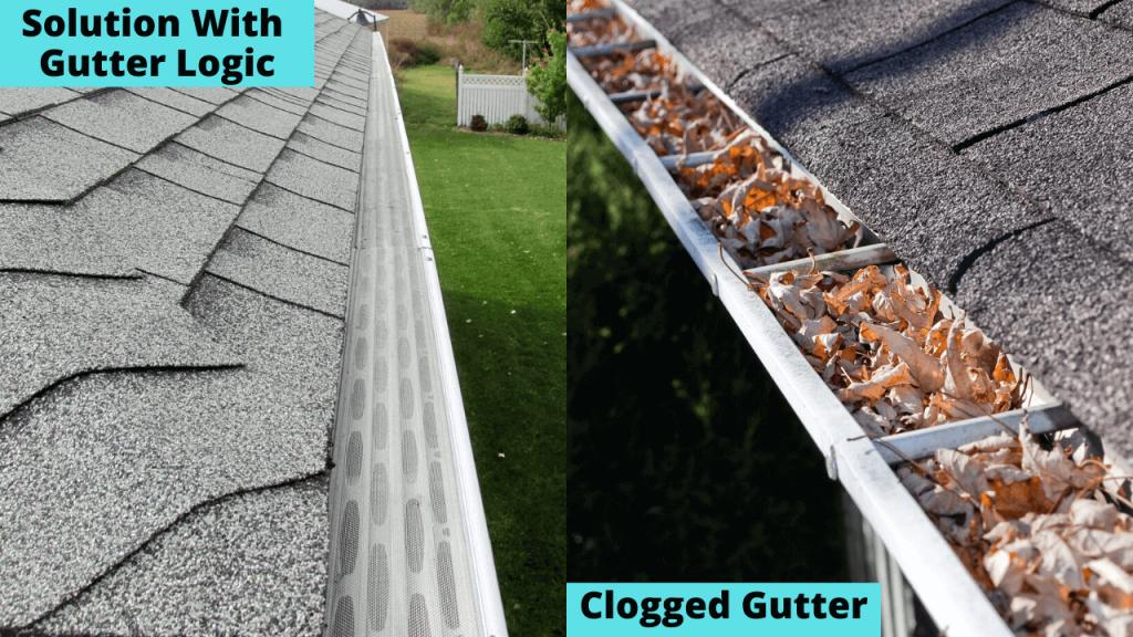 Gutter Logic Gutter Protection Brand Reviews Updated Aug 2020 In 2020 Gutter Protection Gutter Clogged Gutter