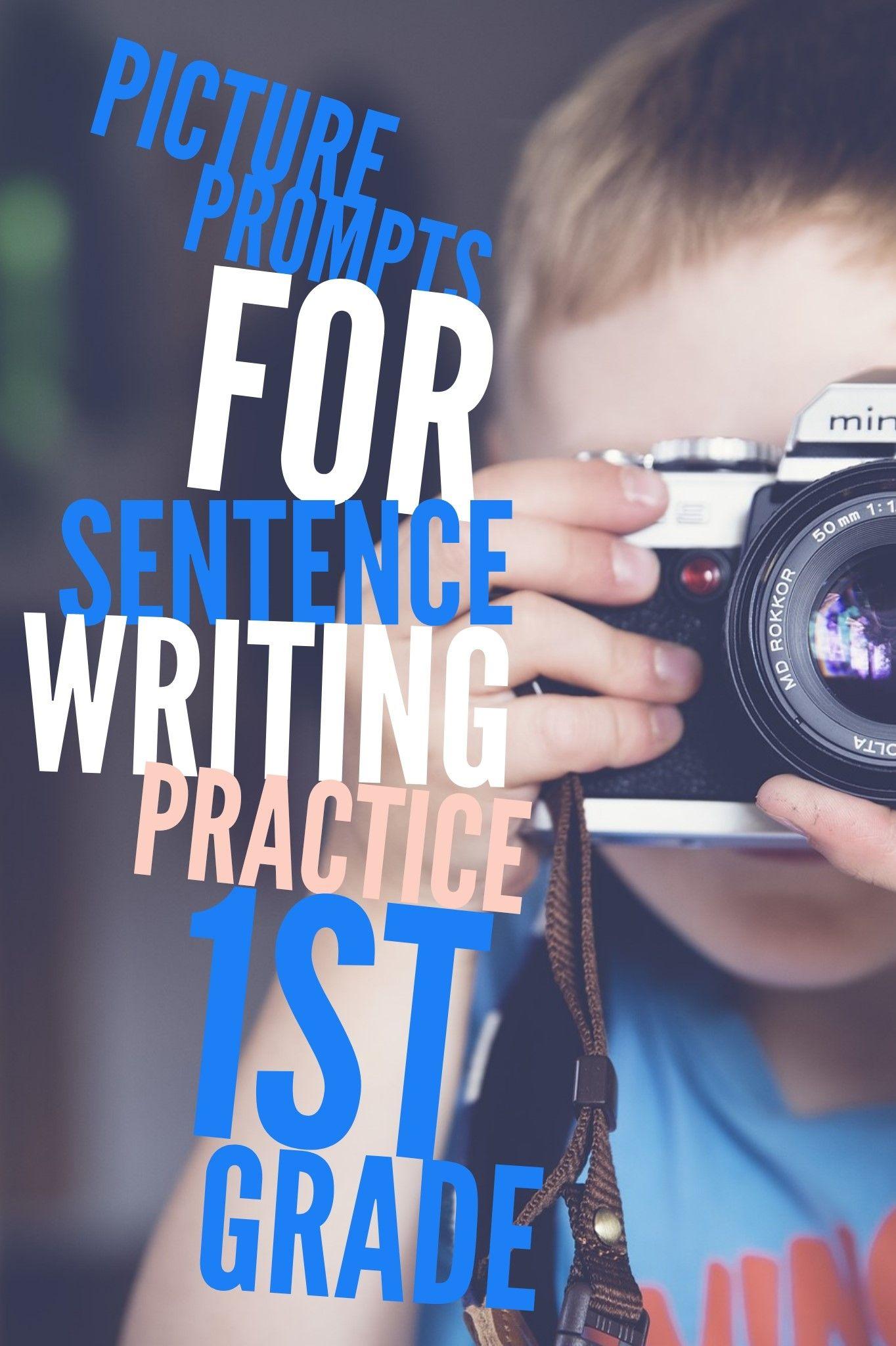 Sentence Writing Practice 1st Grade In