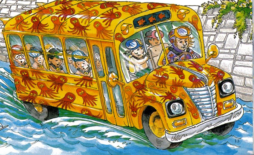 Latest 383 316 Pixels Magic School Bus Characters Magic School