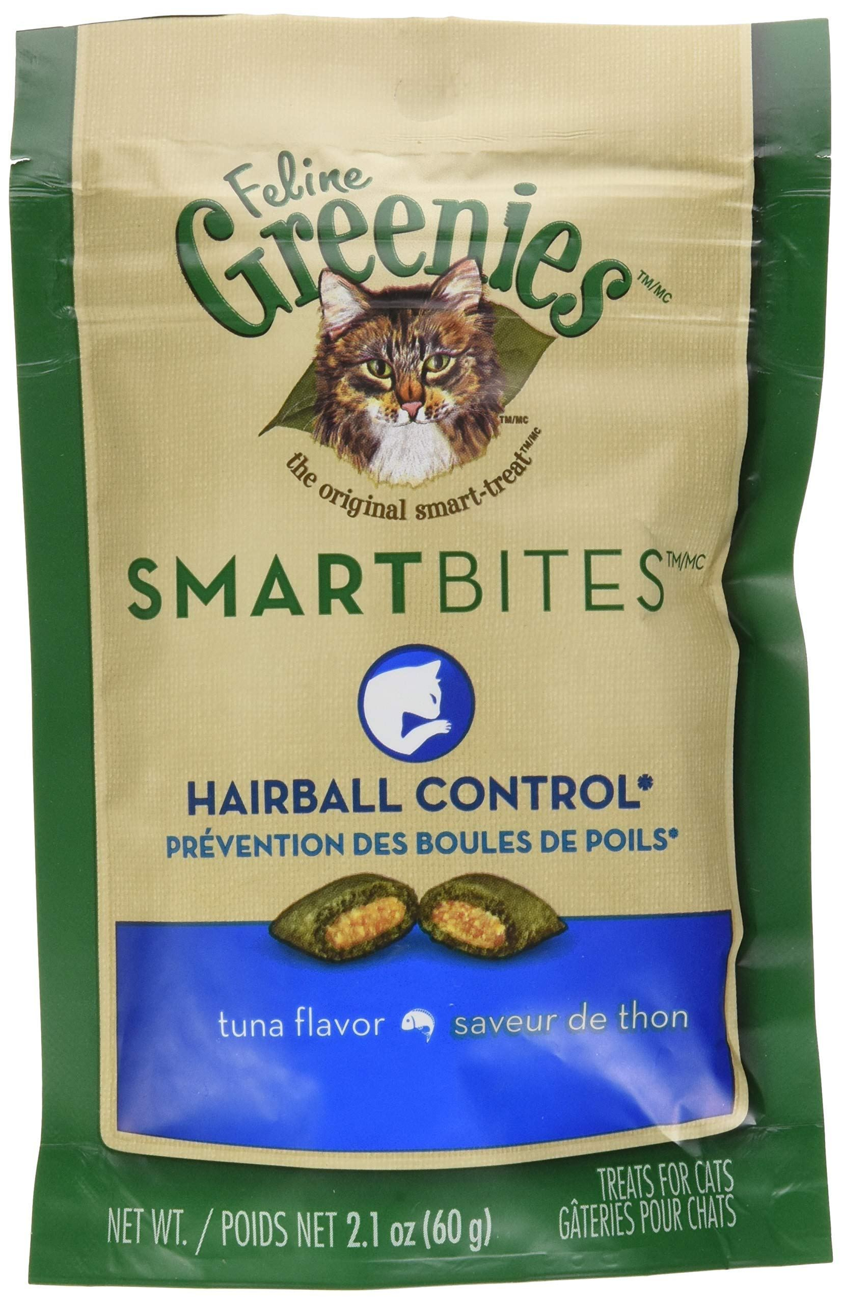 FELINE GREENIES SMARTBITES Cat Treats Greenies, Cat