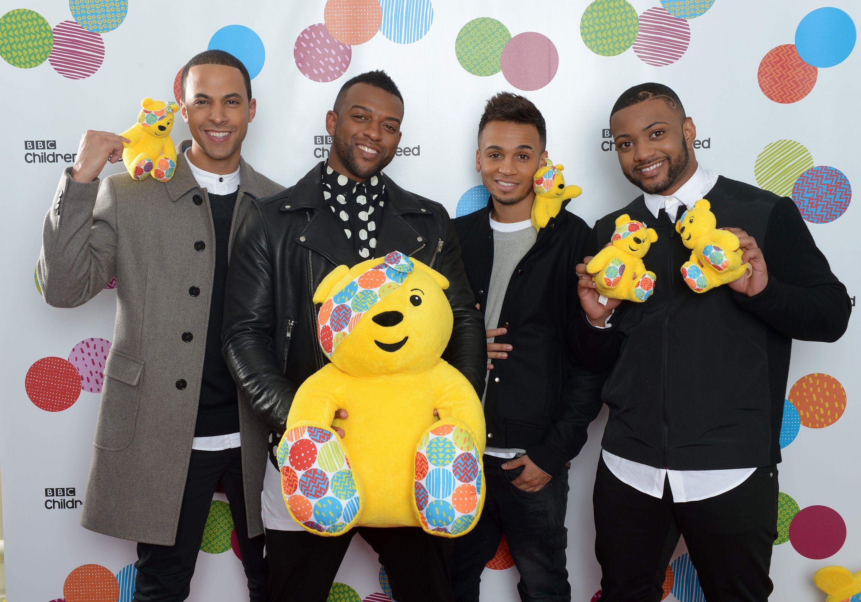 The JLS boys are here! #CiN | JLS | Children in need