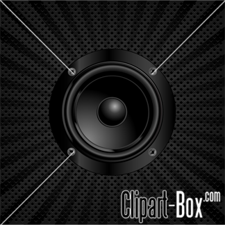Buy Sound Speaker By Dazdraperma On GraphicRiver Black Radial Background