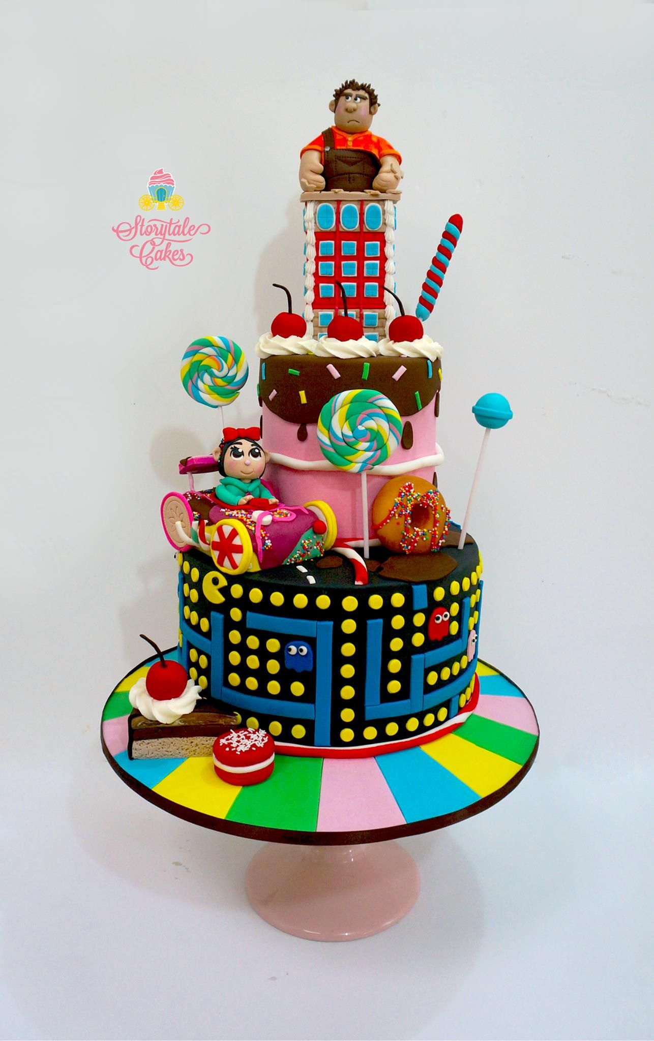 Wreck It Ralph Storytale Cakes Facebook Birthday Cake Kids