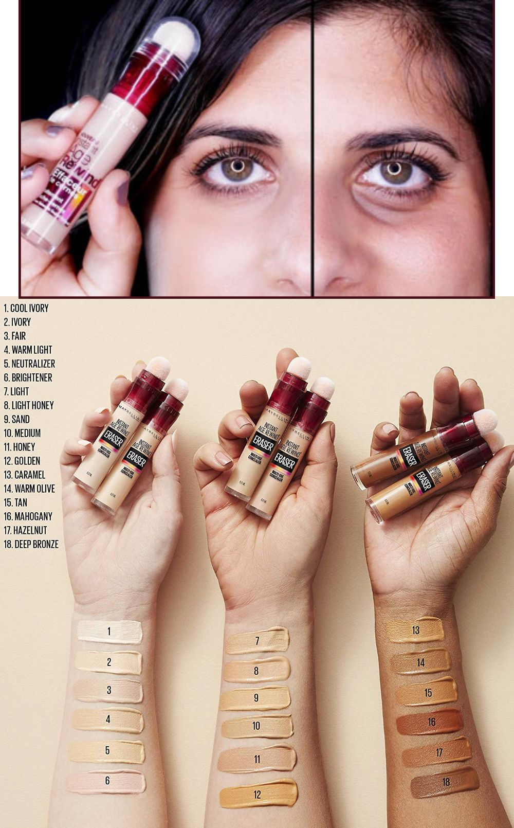 44+ Maybelline instant anti age concealer light inspirations