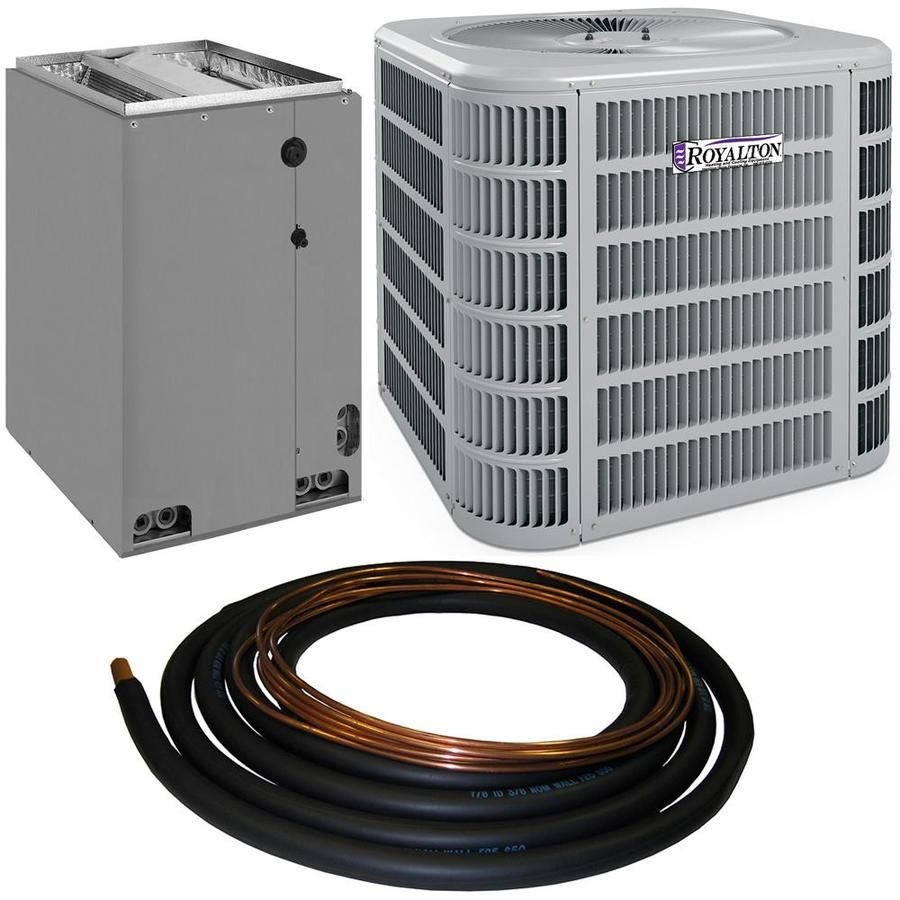 Royalton 4ac13l Commercial Residential 4 Ton 14 Seer Central Air Conditioner In Gray 4ac16l48p In 2020 Central Air Conditioners Central Air Air Conditioner