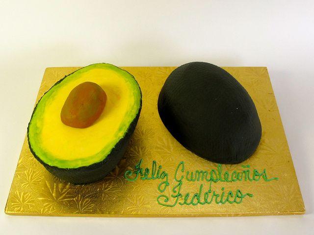Terrific Avocado Shape 700128 Avocado Cake Cake Shapes Avocado Funny Birthday Cards Online Hendilapandamsfinfo